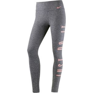 Nike Power Tights Damen black heather/storm pink