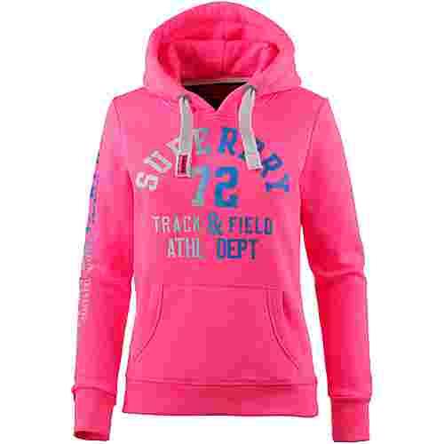 Superdry Hoodie Damen casette pink snowy
