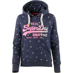 Pullover   Sweats für Damen von Superdry in blau im Online Shop von ... 5529c9ebdb
