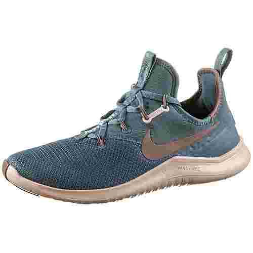 Nike Free TR 8 Fitnessschuhe Damen celestial teal/smokey mauve-particle beige-silver