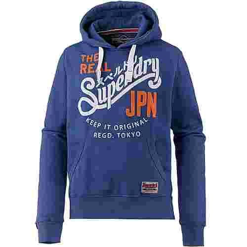 Superdry Hoodie Herren native blue marl