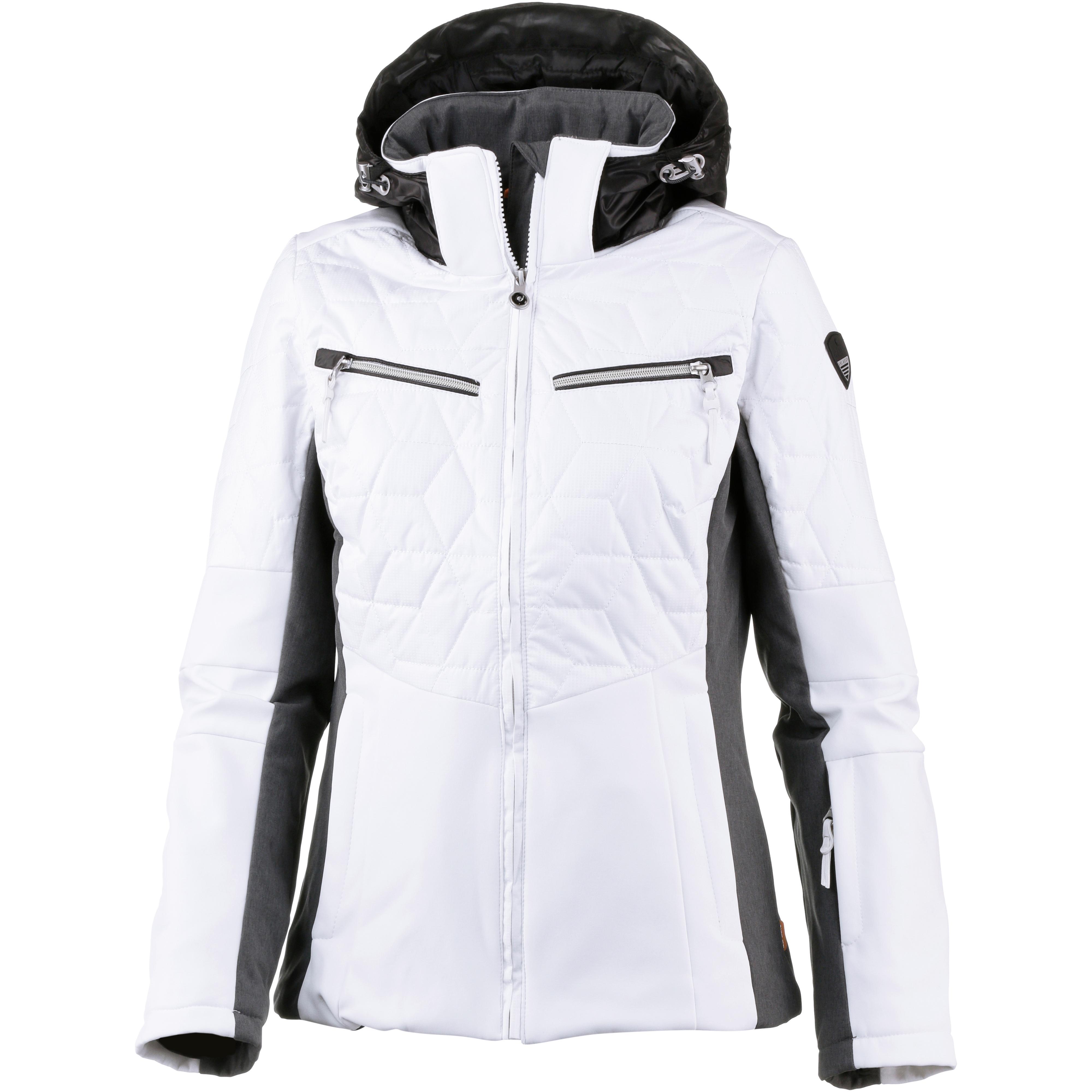 ICEPEAK CHLOE Softshelljacke Damen optic white im Online Shop von SportScheck kaufen