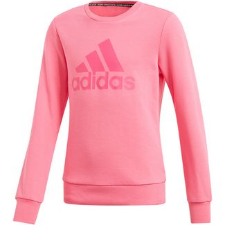 adidas Sweatjacke Mädchen semi solar pink im Online Shop von SportScheck kaufen