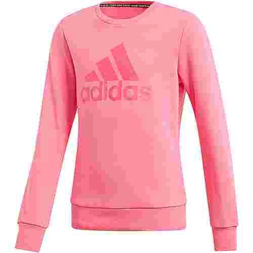 adidas Sweatshirt Kinder semi solar pink