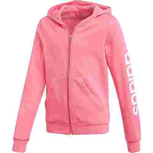 adidas Sweatjacke Kinder semi solar pink