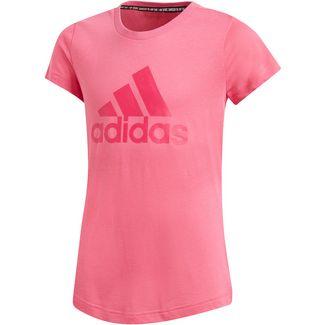 adidas T-Shirt Kinder semi solar pink