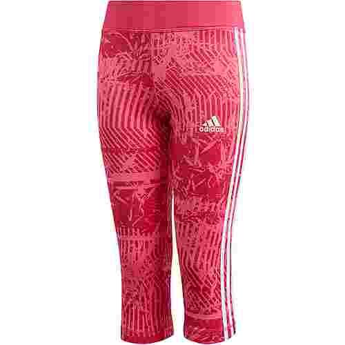 adidas Tights Kinder semi solar pink