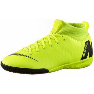 Nike JR MERCURIAL SUPERFLYX 6 ACADEMY GS IC Fußballschuhe Kinder volt-black