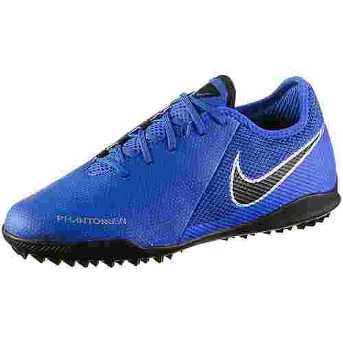 Nike JR PHANTOM VSN ACADEMY TF Fußballschuhe Kinder racer blue-black-mtlc silver-volt-mtlc silver