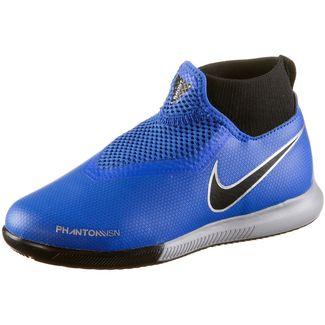 Nike JR PHANTOM VSN ACADEMY DF IC Fußballschuhe Kinder racer blue-racer blue-black-mtlc silver-volt-mtlc silver