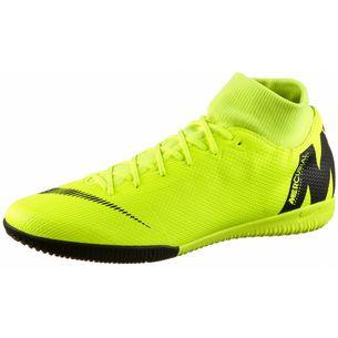 Nike MERCURIAL SUPERFLYX 6 ACADEMY IC Fußballschuhe volt-black