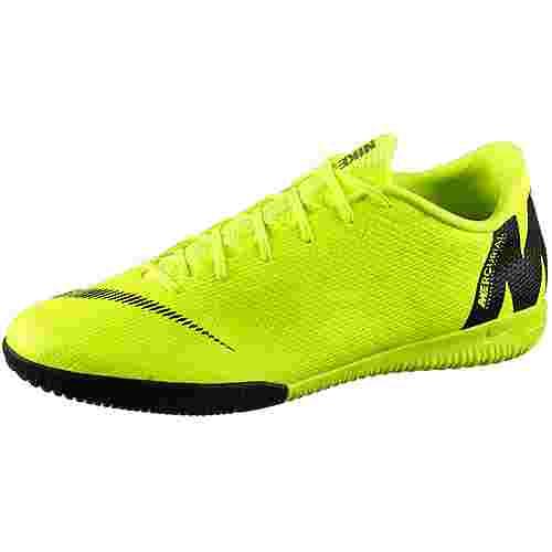 Nike MERCURIAL VAPORX 12 ACADEMY IC Fußballschuhe volt-black