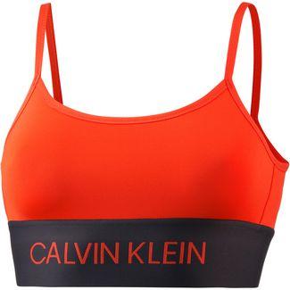 Calvin Klein Sport-BH Damen cherry tomato