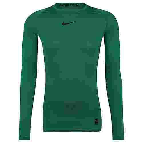 Nike Pro Langarmshirt Herren dunkelgrün