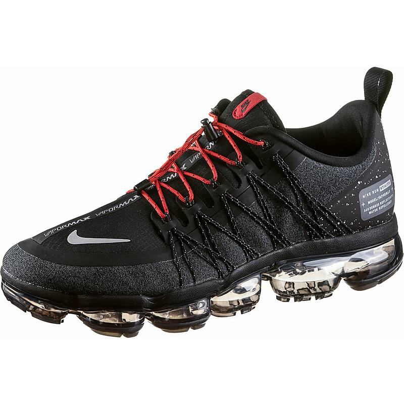 Nike Air Vapormax Run Utility Sneaker Herren black-reflect silver-anthracite 49e2d4ad5