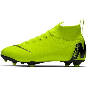 Nike MERCURIAL JR SUPERFLY 6 ELITE FG Fußballschuhe Kinder volt-black