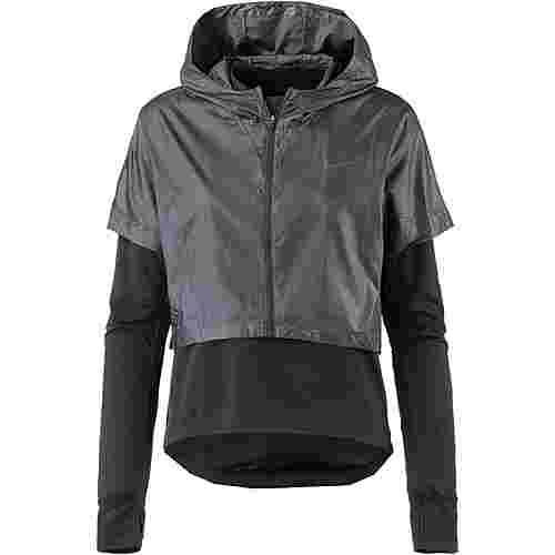 Nike Therma Spere Laufhoodie Damen black/reflective black