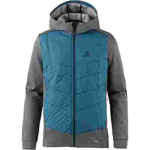 Salomon Pulse Hybrid Funktionsjacke Herren reflecting pond-moroc blu