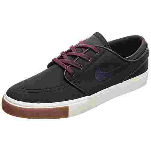 Nike Zoom Stefan Janoski Canvas Sneaker Herren schwarz / dunkelblau