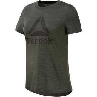 Reebok Elements Marble T-Shirt Damen chalk green