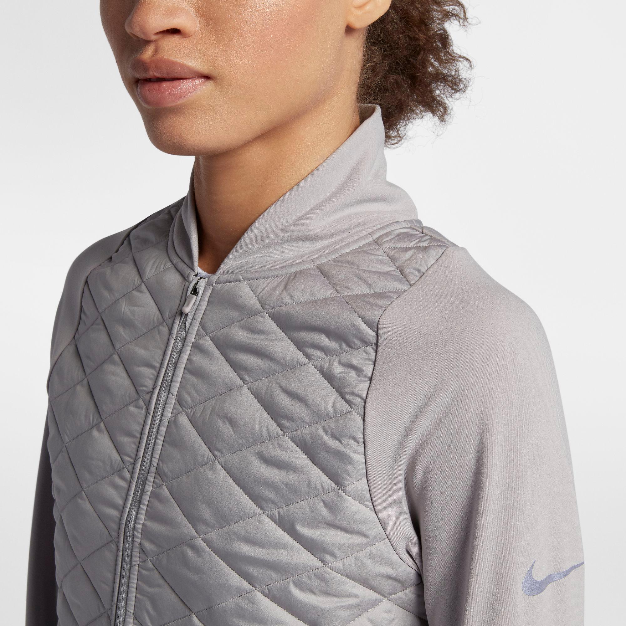 Nike Aeroloft Laufjacke Damen atmosphere greyvast grey
