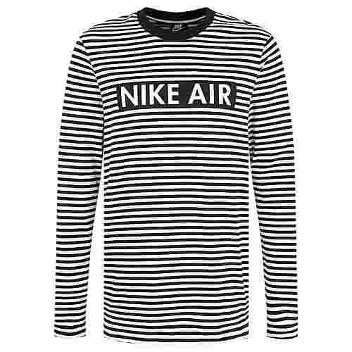 Nike Air Langarmshirt Herren weiß / schwarz