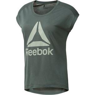 Reebok Workout Ready T-Shirt Damen chalk green