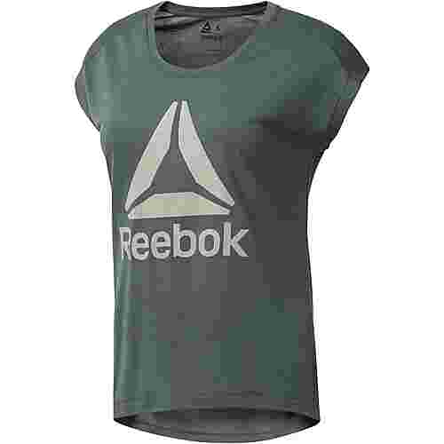 Reebok Workout Ready T-Shirt Damen chalk green