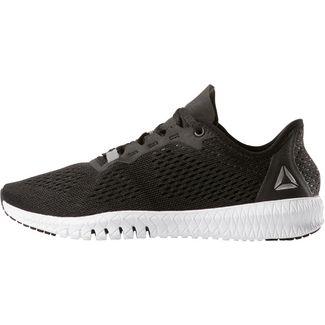 best sneakers b14ee 02c64 Reebok FLEXAGON Fitnessschuhe Damen black-white-silver