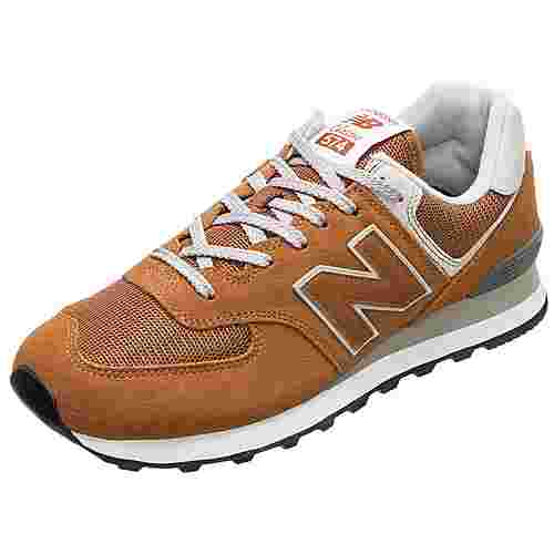 NEW BALANCE ML574-EPE-D Sneaker Herren orange / grau