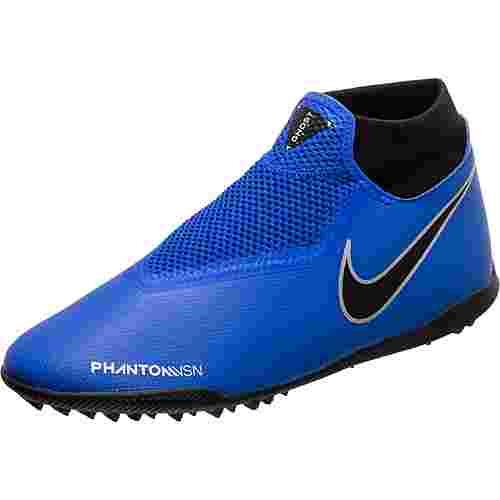 Nike Phantom Vision Academy DF TF Fußballschuhe Herren blau / schwarz