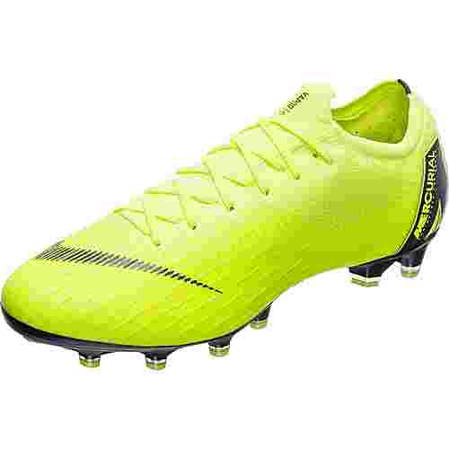 Nike Mercurial Vapor XII Elite Fußballschuhe Herren neongelb / schwarz