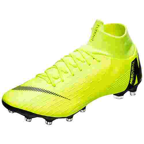Nike Mercurial Superfly VI Pro AG-Pro Fußballschuhe Herren gelb / schwarz