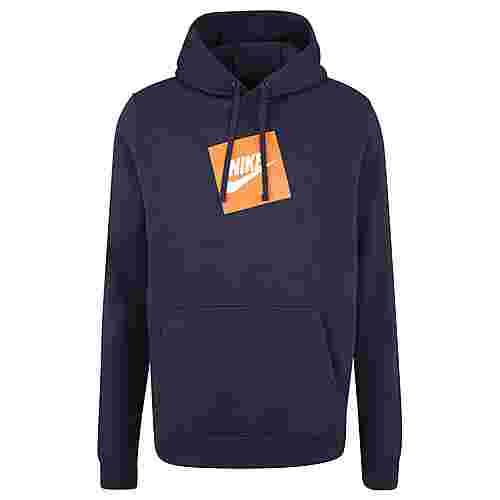 Nike Sportswear Fleece Kapuzenpullover Herren dunkelblau