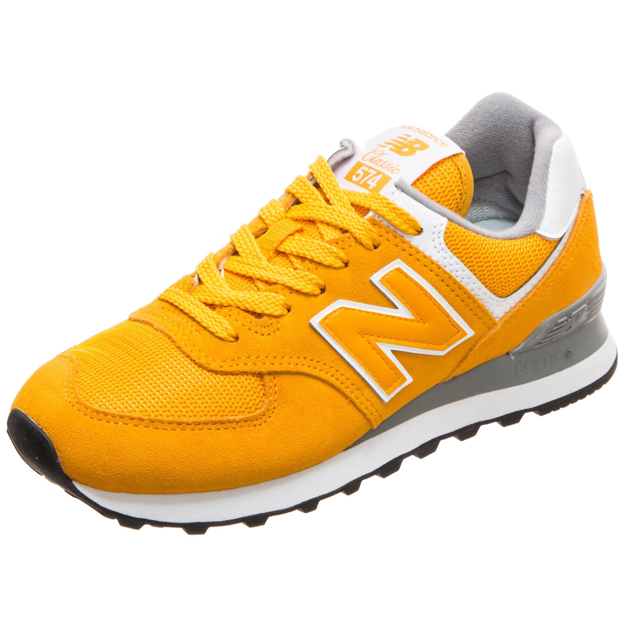 buy online 75142 a7aef NEW BALANCE WL574-UNB-B Sneaker Damen gelb im Online Shop von SportScheck  kaufen