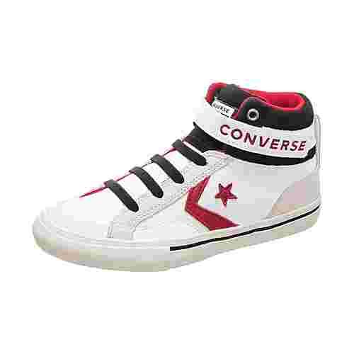 CONVERSE Pro Blaze Strap Sneaker Kinder weiß / rot