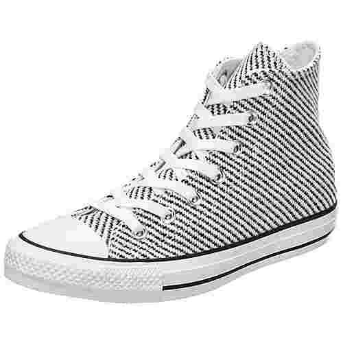 CONVERSE Chuck Taylor All Star High Sneaker Damen weiß / schwarz