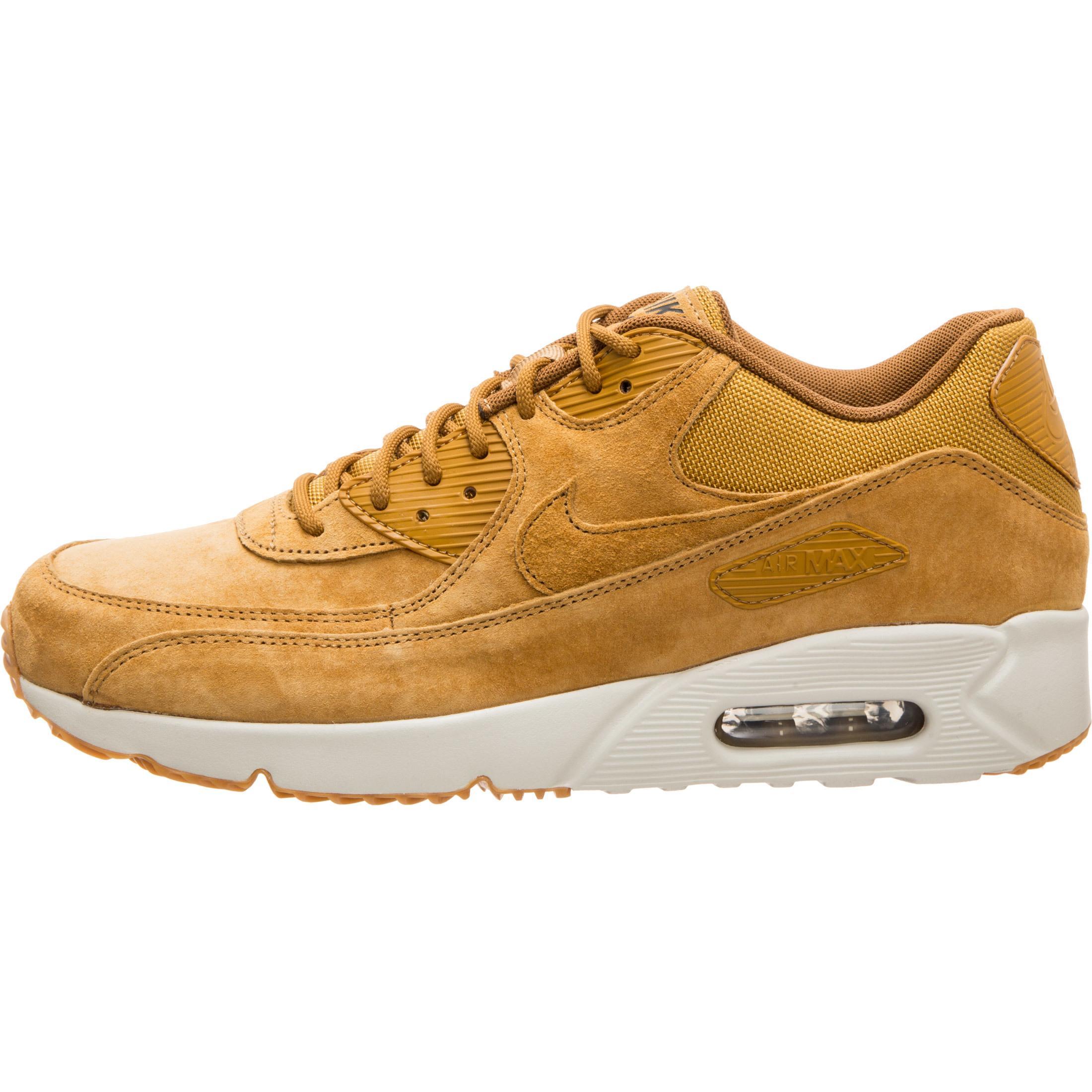 Nike Air Max 90 Ultra 2.0 Leather Sneaker Herren hellbraun beige im Online Shop von SportScheck kaufen