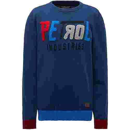 Petrol Industries Sweatshirt Kinder Petrol Blue