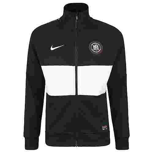 Nike F.C. Trainingsjacke Herren schwarz / weiß