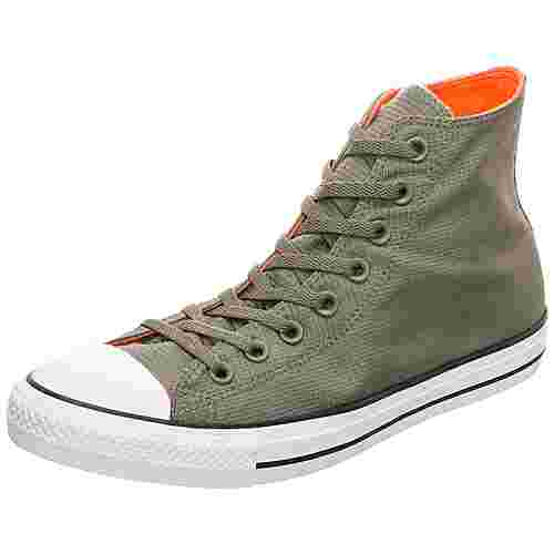 CONVERSE Chuck Taylor All Star High Sneaker Herren oliv / orange