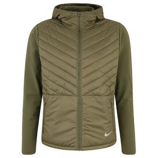 Nike AeroLayer Laufjacke Herren oliv