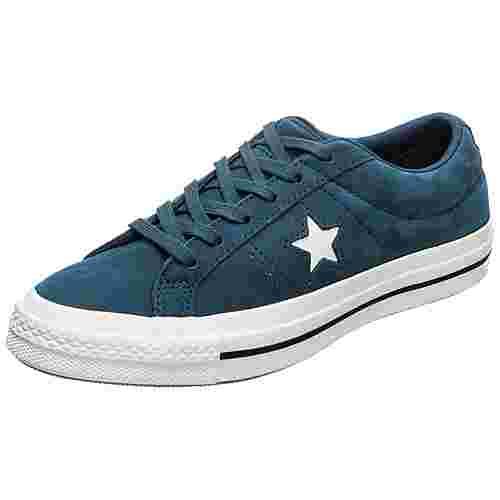 CONVERSE Cons One Star OX Sneaker Herren petrol / weiß