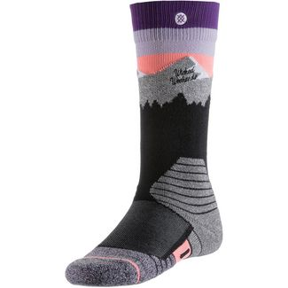 Stance White Caps Snowboardsocken Damen purple