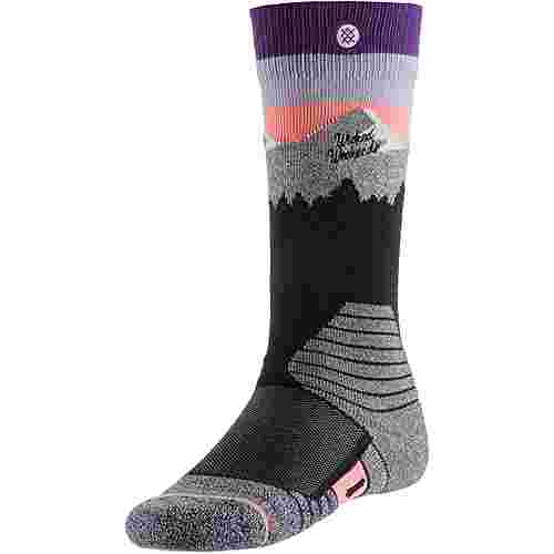 Stance Merino White Caps Snowboardsocken Damen purple