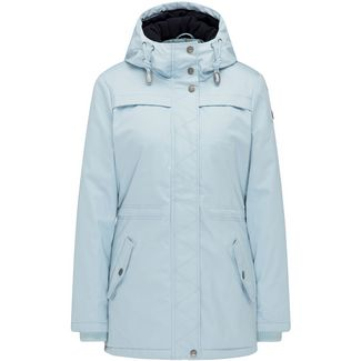 DreiMaster Outdoorjacke Damen rauch mint