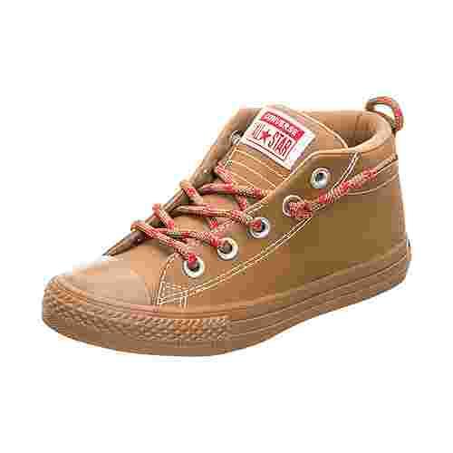 CONVERSE Chuck Taylor All Star Street Sneaker Kinder braun
