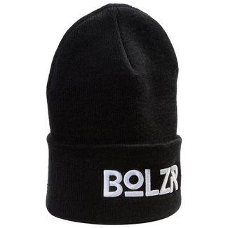 Bolzr Beanie Beanie Herren schwarz / weiß