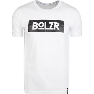 Bolzr T-Shirt T-Shirt Herren weiß / schwarz