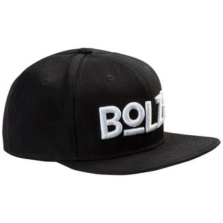 Bolzr Snapback Cap Herren schwarz / weiß